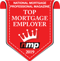 NMPM Top Mortgage Employer 2019 Logo