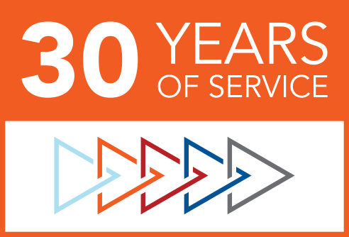 30 Years of Service logo