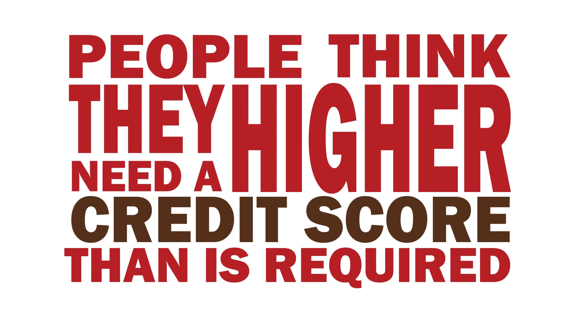 A+ Worried About Your Credit Score?