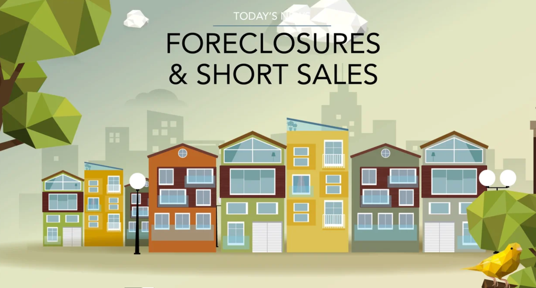 Forclosures and short sales