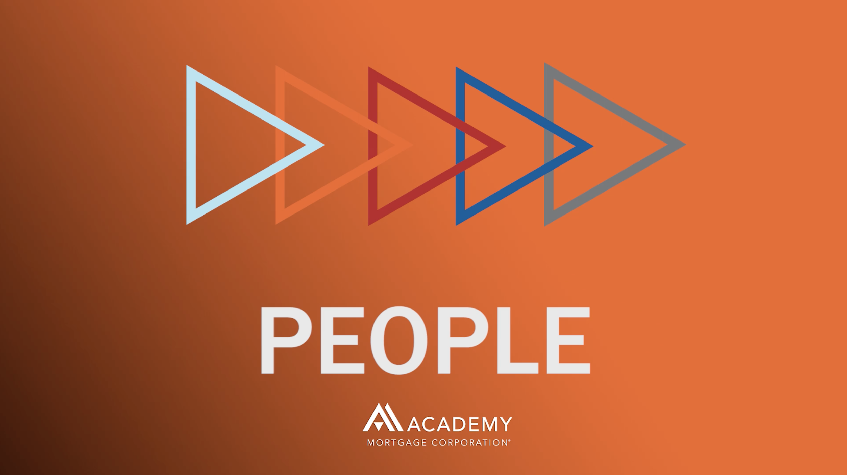 Academy's 5Ps: People
